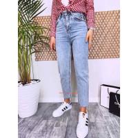 Стильні жіночі джинси із завищеною талією