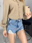 Джинсовые мини шорты женские