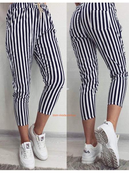 Летние женские штаны в полоску