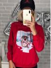 Женская кофта спортивная с капюшоном
