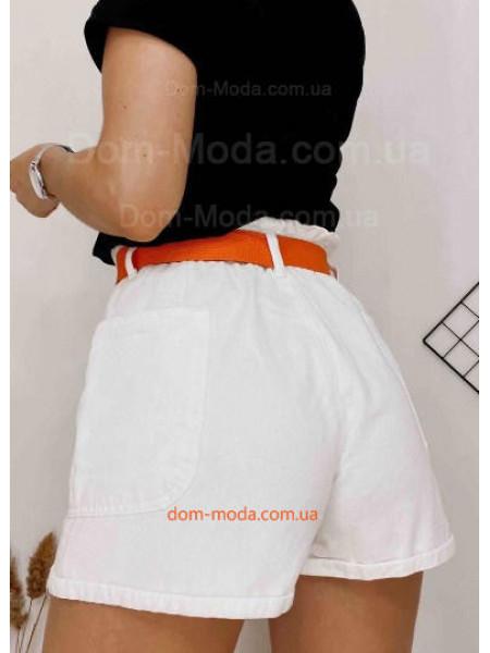 """Молодежные джинсовые шорты """"Короткие"""""""