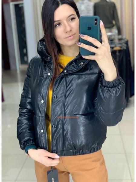 Дута шкіряна куртка жіноча