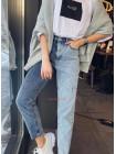 Жіночі джинси двокольорові