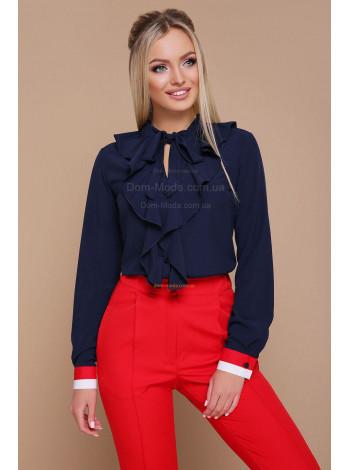 Модная женская блузка с длинным рукавом