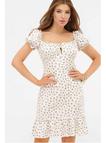 "Белая блузка с коротким рукавом ""Илона"""