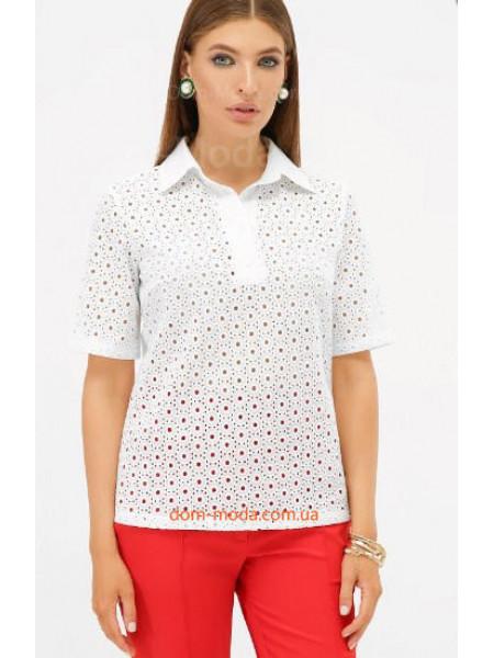 Біла літня блузка