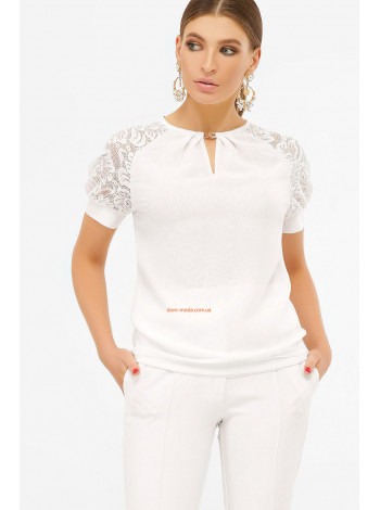 Женская блуза с коротким рукавом