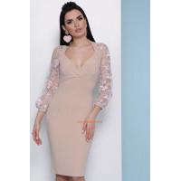Платье женское модное с глубоким декольте
