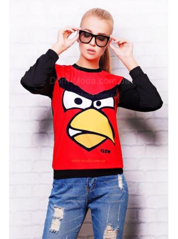 """Модный свитшот с длинным рукавом """"Angry Birds"""""""