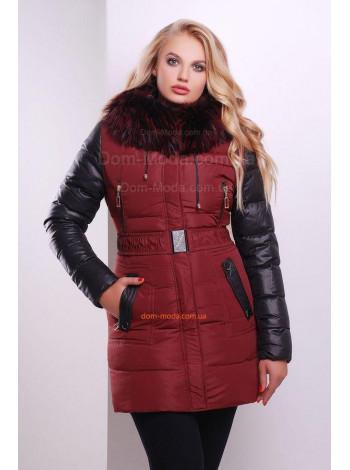 "Стильна зимова куртка пуховик ""Елла"""