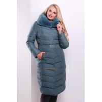 """Елегантна зимова куртка пуховик великого розміру """"Ені"""""""