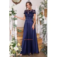 Вечірнє модне плаття в пол святкове
