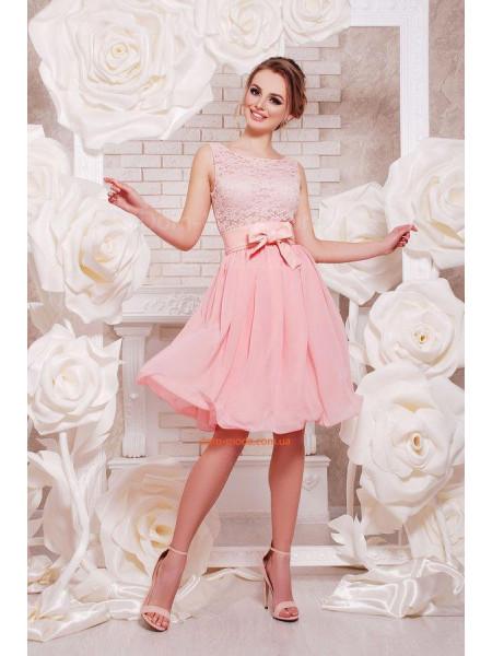 Коротка ошатна вечірня сукня на випускний ... 653bc7e7f6ba9