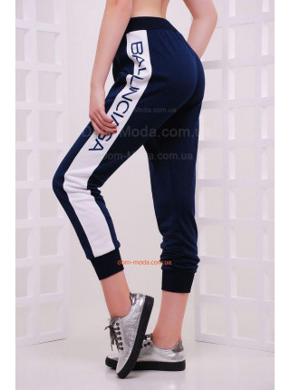 Спортивные брюки с манжетами