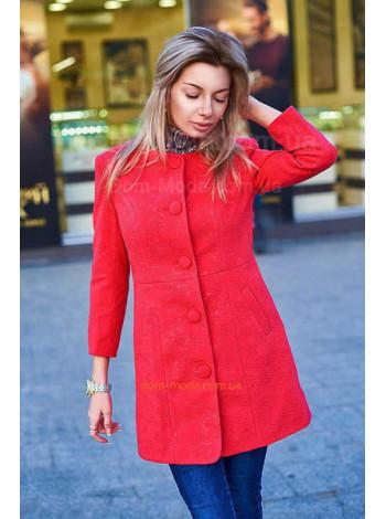 """Модное женское кашемировое пальто """"Рисунок"""""""