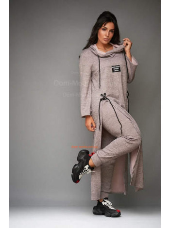"""Жіночий костюм зі шнурівкою з ангори """"Лія"""""""