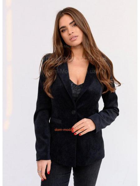 Вельветовый пиджак женский