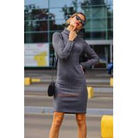 Модное женское платье лапша