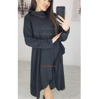 Женское молодежное платье туника с рукавом