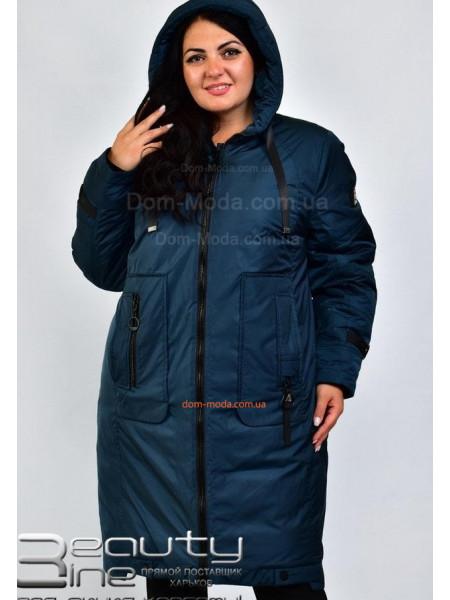 Жіноче зимове пальто великого розміру