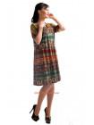 Женское летнее платье с орнаментом