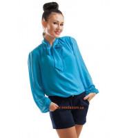 Женские однотонные короткие шорты