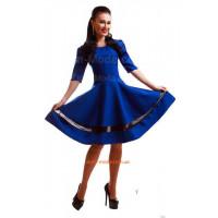 Жіноче нарядне плаття з рукавом три чверті