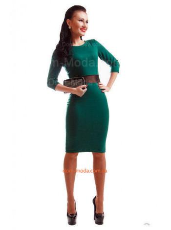 Стильное платье с рукавом в обтяжку