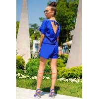 Жіночий модний літній комбінезон із відкритою спиною