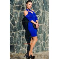 Модное короткое женское сексуальное платье