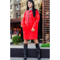 Молодежное кашемировое пальто over size. Батал и норма