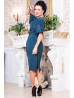 Женское платье модное с разрезом