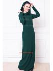 Стильне максі плаття з хомутом