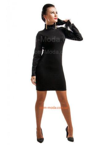 Короткое женское модное платье гольф