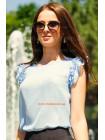 Блуза без рукав літня