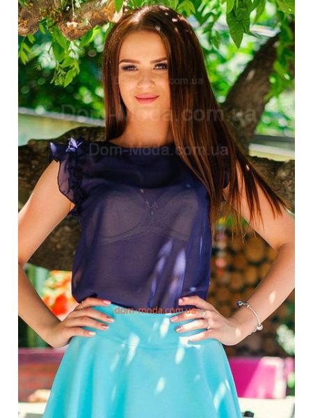 Блуза без рукав летняя