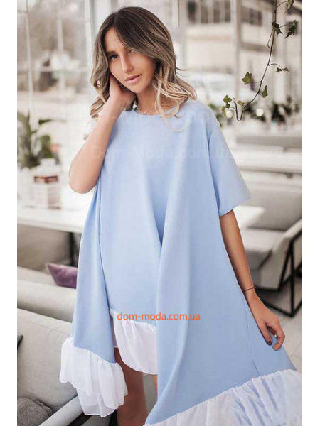 Короткое платье over size