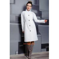 Кашемировое классическое пальто для девушек с формами