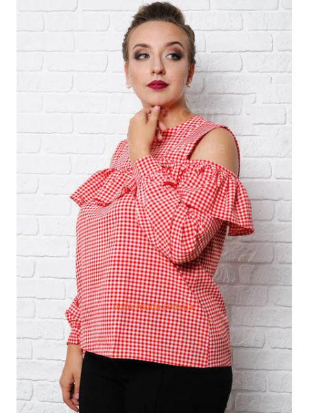 Блузка великого розміру для жінок