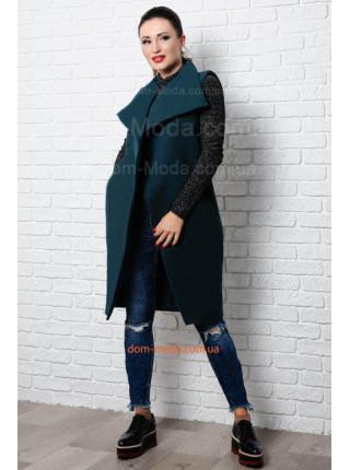 Модная кашемировая жилетка для полных