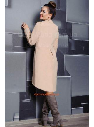 Стильное пальто женское демисезонное из кашемира