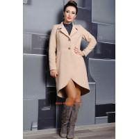 Стильне пальто жіноче демісезонне із кашеміру
