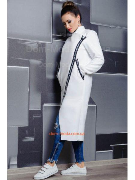 Стильное пальто без подкладки для пышных женщин