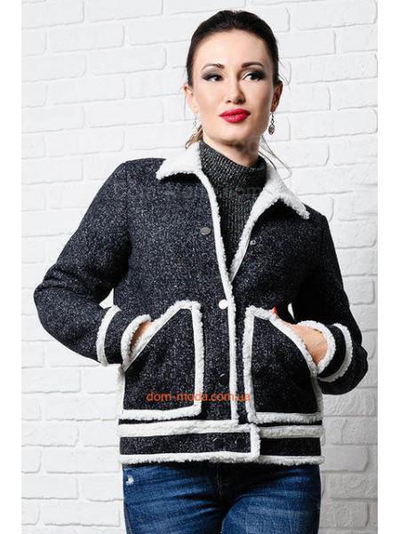 КУПИТИ ОНЛАЙН КУПИТИ ОНЛАЙН. Коротка куртка на овчині великого розміру ... 8fb680698e262