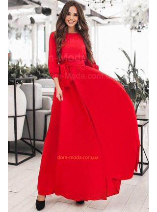 Вечернее макси платье для девушек с формами