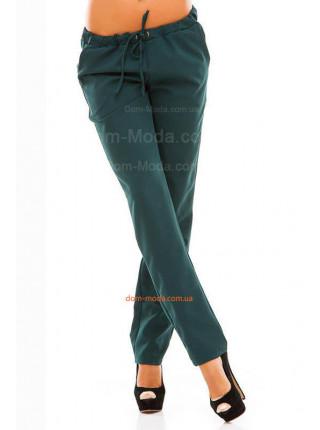 Стильні брюки жіночі на резинці для повних