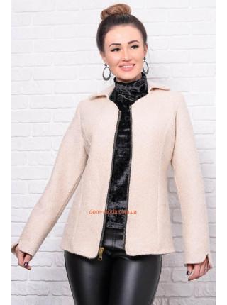 Короткая кашемировая куртка большого размера