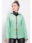 Коротка кашемірова куртка великого розміру