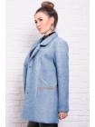 Стильное укороченное кашемировое пальто для пышных женщин