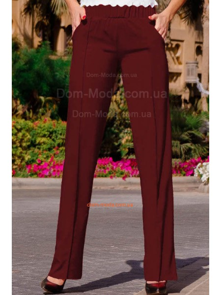 Класичні жіночі брюки для повних